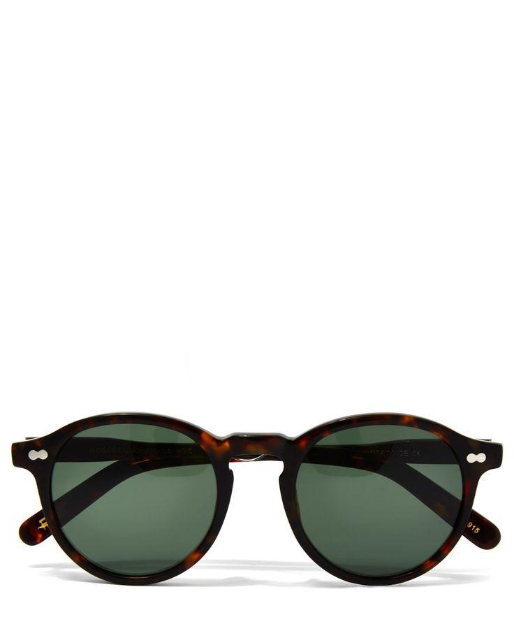 Moscot Tortoiseshell Miltzen 49 Sunglasses | Accessories | Liberty.co.uk