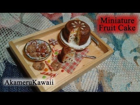 Polymer Clay Miniature Cakes