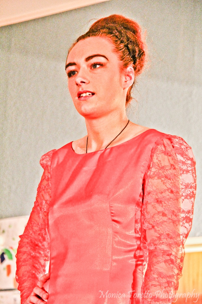 Upcycle Fashion Show.  Invercargill, June 14, 2013.