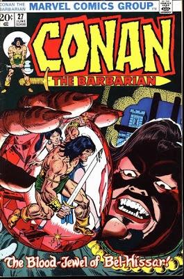 Conan the Barbarian #27.   #Conan  Auction your comics on http://www.comicbazaar.co.uk