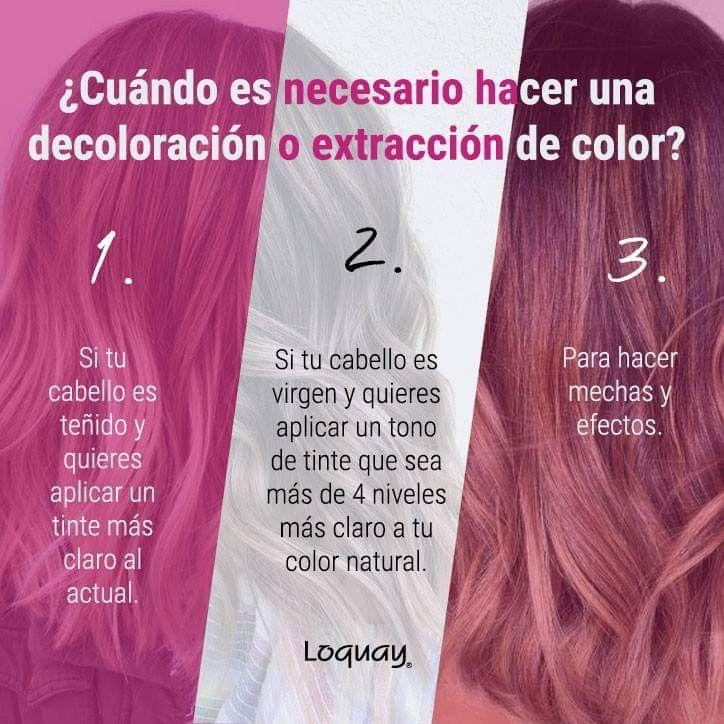 Ideas Post Fórmulas Para Color De Cabello Decoloración De Cabello Colorimetria Cabello