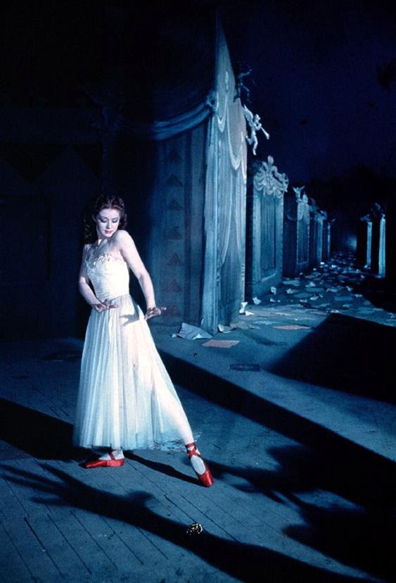 The Red Shoes directed by Michael Powell and Emeric Pressburger (1948). Jack Cardiff, Director of Photography. #Surrealism