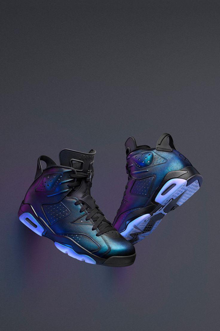 Nike Air Jordan 6 Retro 'Gotta Shine'. Nike+ Launch GB
