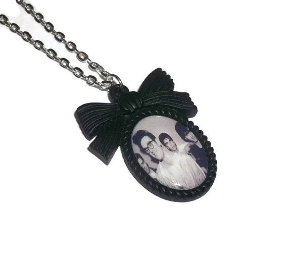 The Smiths Necklace Morrissey Cameo by KitschBitchJewellery, $11.99 | Accessories | Pinterest ...