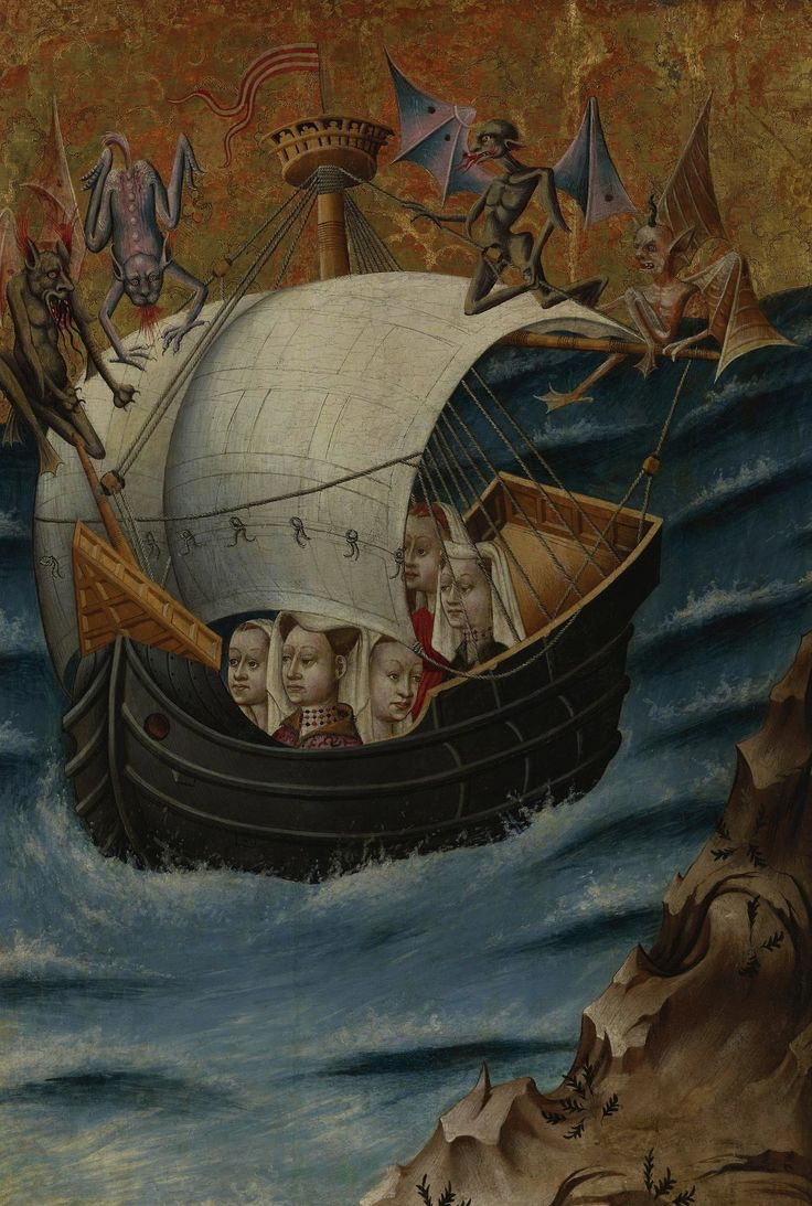 Jan Brueghel. The Voyage of St. Ursula to Cologne. 1420.