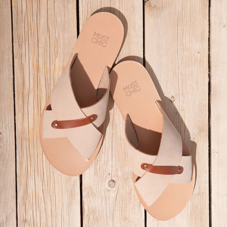 Summers Must Haves ! the Most Chic Sandals Collection ! grecian style sandals, 100% leather, handmade in Greece www.most-chic.com