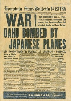 Japanese attack
