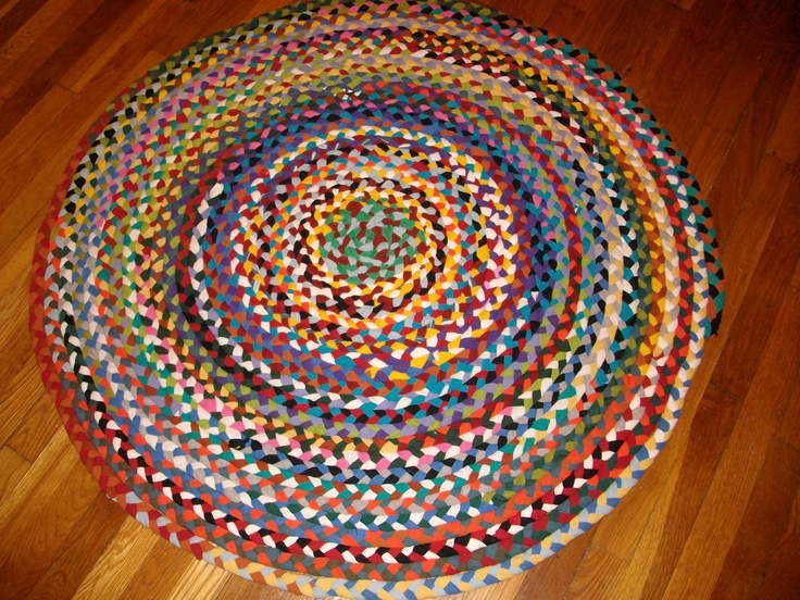 images about Braided T shirt rugs Braided rug
