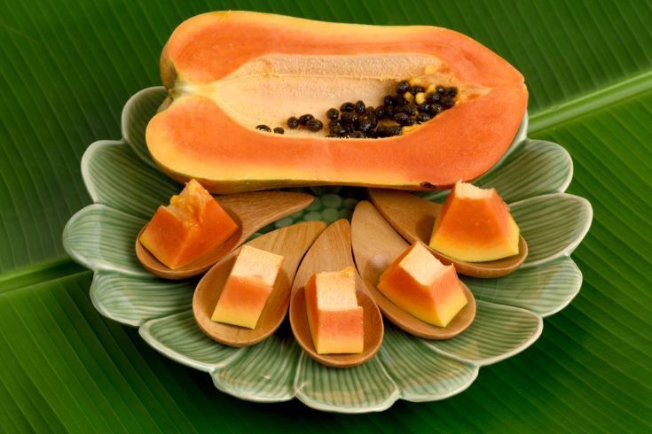 enzimas de los alimentos - la papaina de la papaya