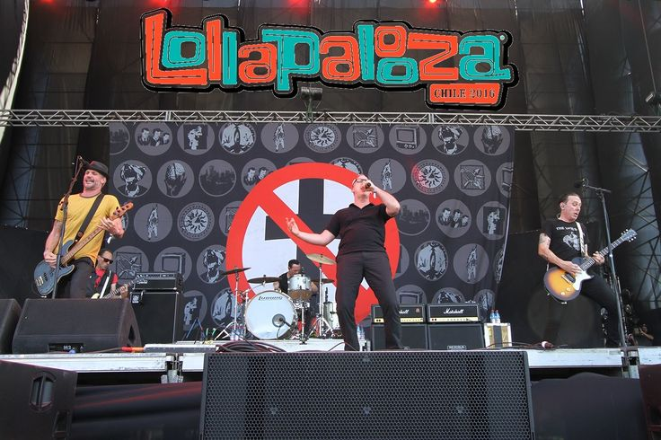 Bad Religion Live at Lollapalooza Chile 2016 (Full Concert)