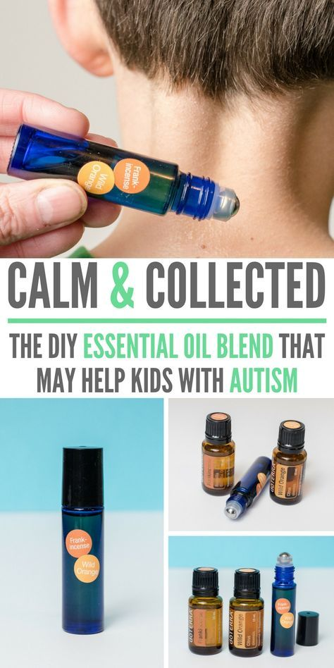 The DIY essential oil blend that may help kids with autism. It's helped one mom drastically reduce outbursts and quickly calm her autistic son!