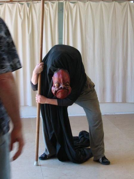 Commedia masks, theatre masks - Mask Workshop