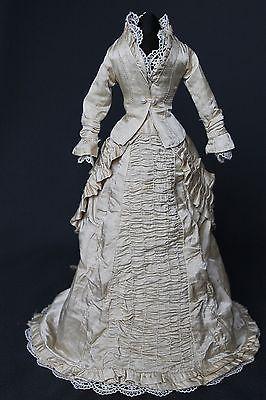 "Antique Dress for French Fashion Doll 14 16 ""   eBay"