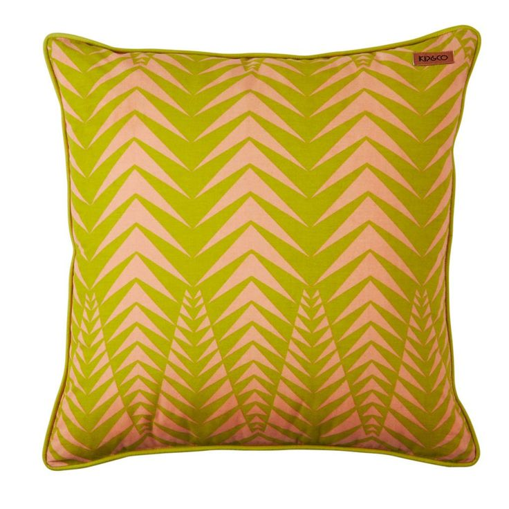 Kip & Co   Feather (Pink) Cushion cover – (1p) 50% OFF – SAVE $32.50