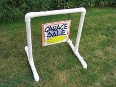 standing sign holder with pipe DYE - Bing images