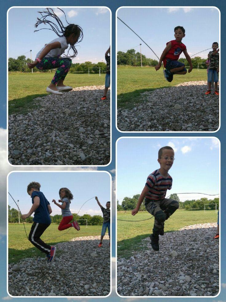 Jump rope games 💕 Jump rope games, Country school, Jump rope