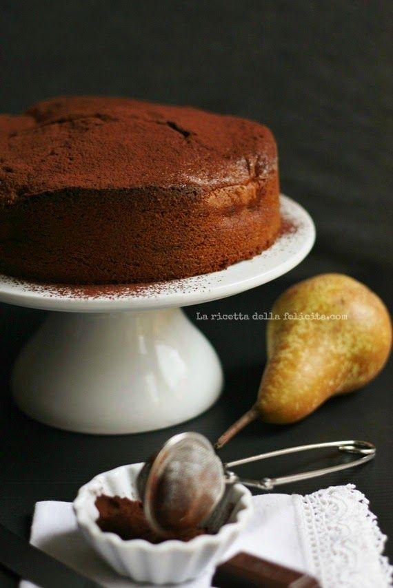 La ricetta della felicità: Torta sofficissima pere e cioccolato