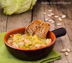 Zuppa di verza e fagioli ricetta gustosa