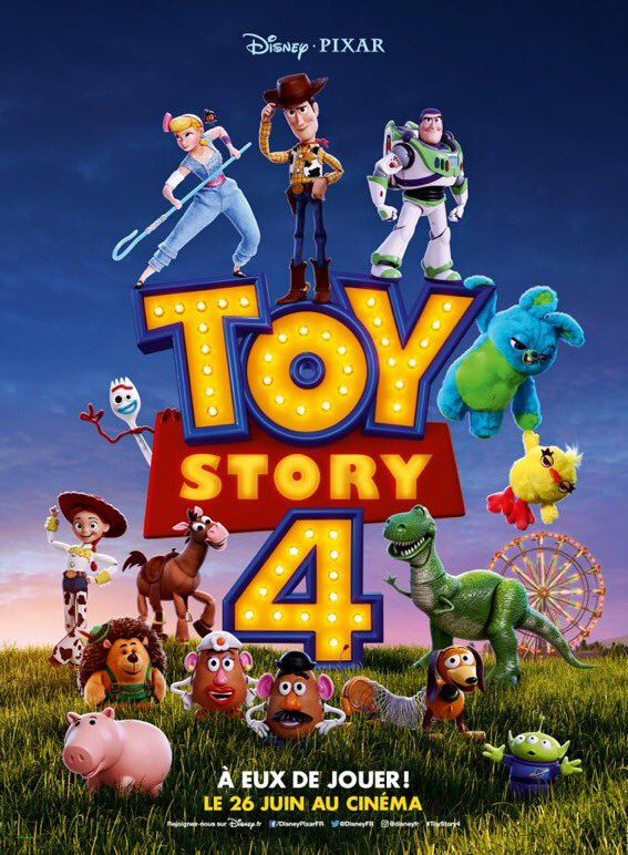 International poster for toy story cinema toy story