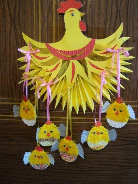 Поделки к пасхе своими руками с детьми 4-5 лет в детском саду фото