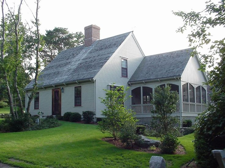 17 best images about home classic cape on pinterest for Custom colonial homes