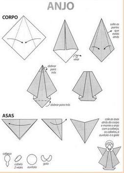Animaux Origami Ange Diy Origami Fleurs De Papier Pliage De Serviettes Pinterest Origami