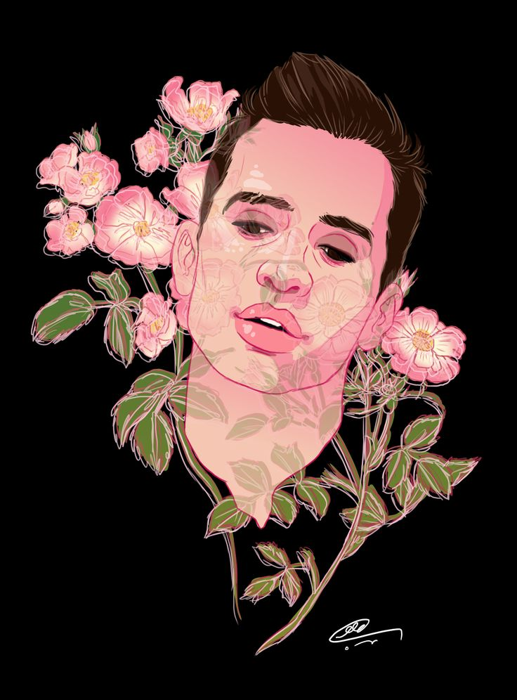 17 Best Images About Brendon Urie Fan Art On Pinterest