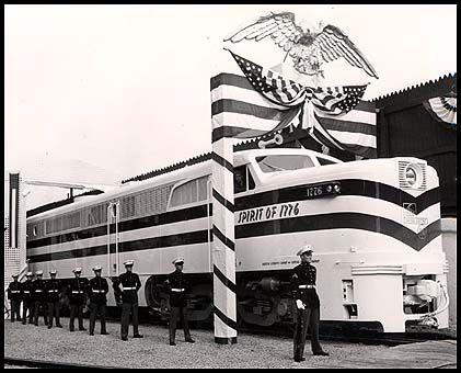 1947 Freedom Train Alco PA1 Locomotive.