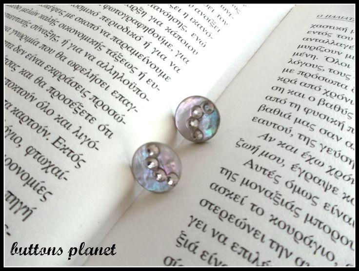#earrings #buttons