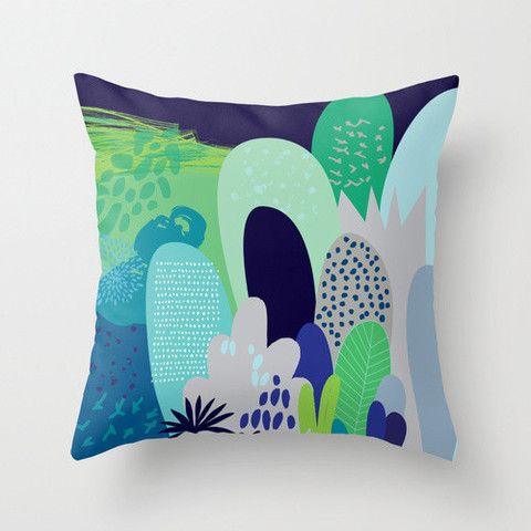 Cloud Nine Creative - Green Magical Forest Cushion