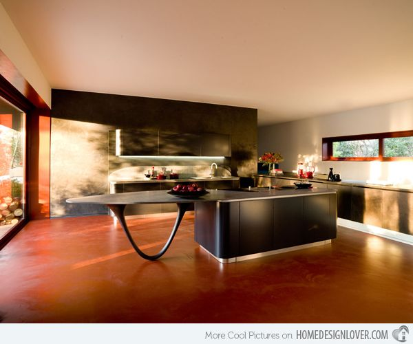 15 Extremely Sleek And Contemporary Kitchen Island Designs: Best 25+ Modern Kitchen Island Ideas On Pinterest