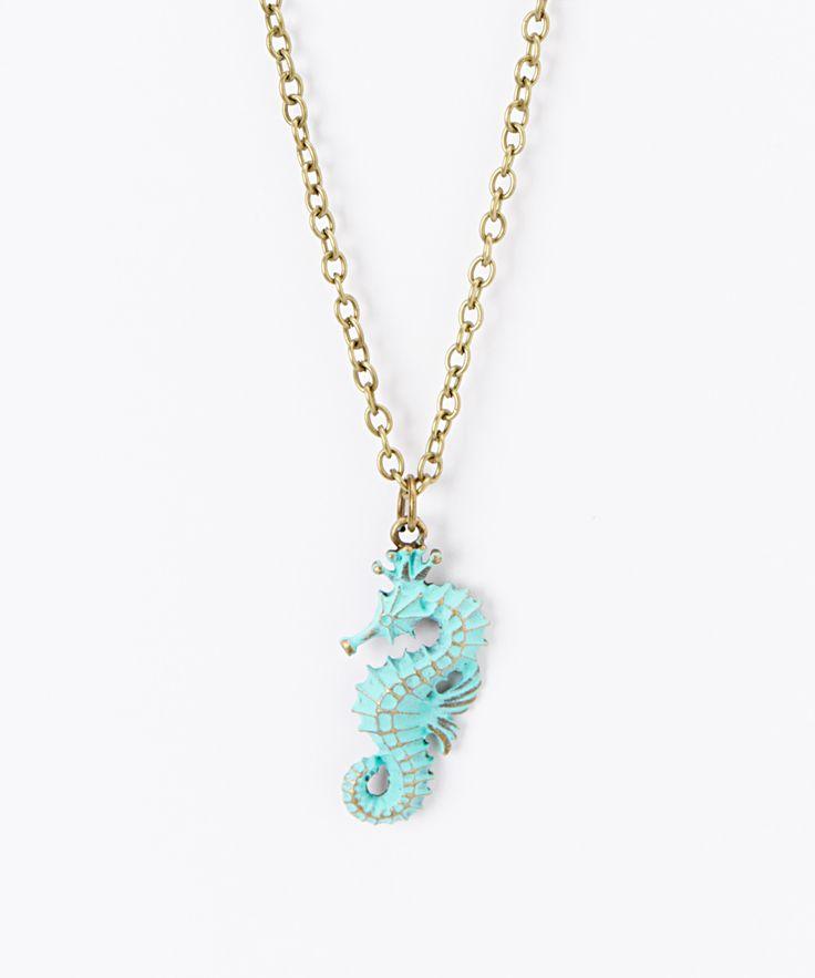 Seahorse Pendant Necklace @Pascale De Groof