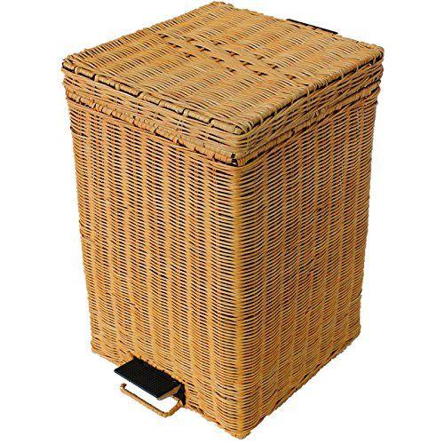 25 best Bambus Eimer images on Pinterest Hamper, Rattan and Compost - abfallbehälter für die küche