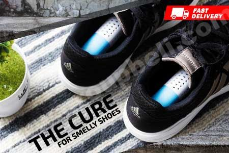 The Cure For Smelly Shoes, hilangkan & basmi kuman penyebab bau hanya Rp 49.900 https://www.groupbeli.com/view.php?id=905