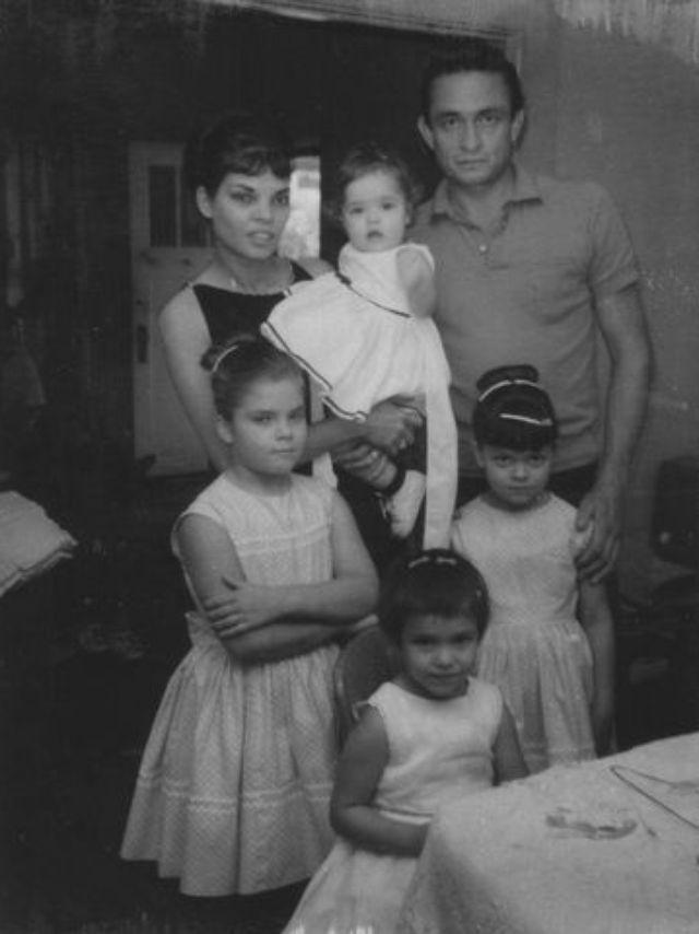 Johnny Cash's first wife tells of romance, heartbreak