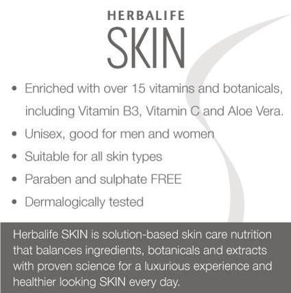 Herbalife SKIN.....Yes it's for you guys too ;-)