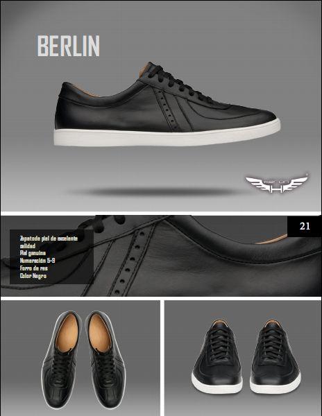 #Calzado modelo berlin, color negro. #moda