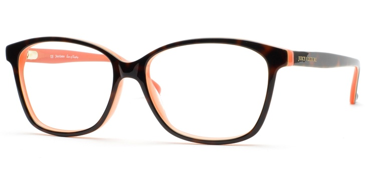 Love these, hope they have them when I get my new glasses!  Juicy Couture Smart Eyeglasses--Tortoise Coral