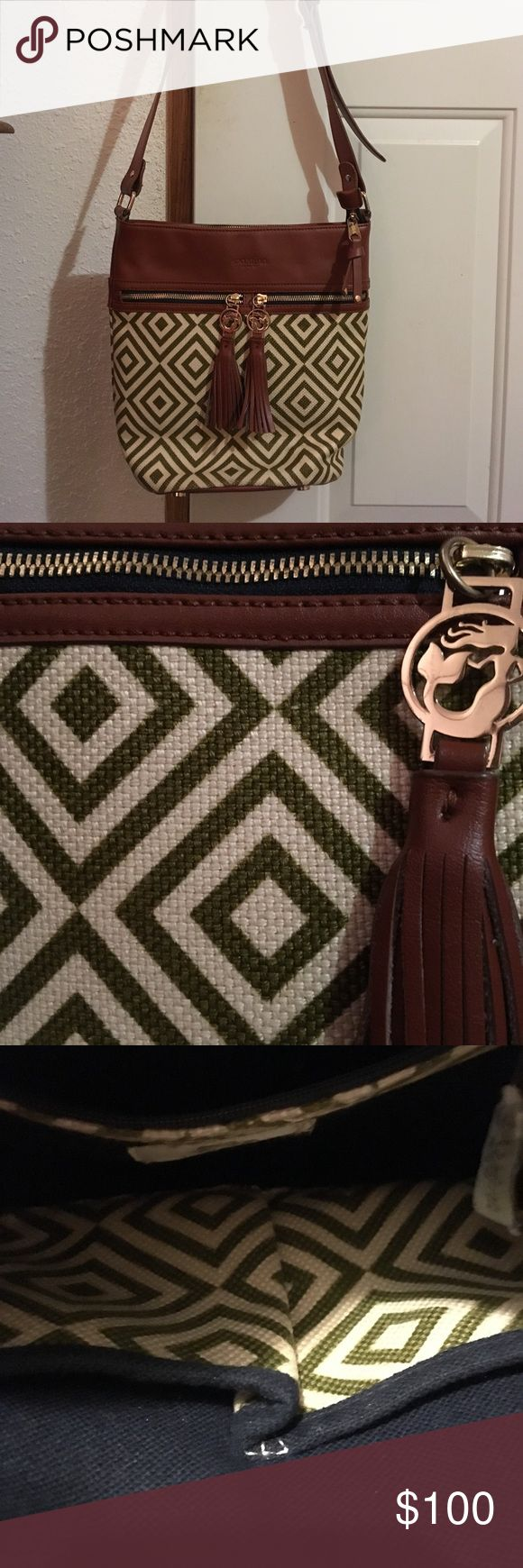 Spartina 449 handbag/SALE TODAY ONLY!! Olive and tan Spartina 449 Handbag. Used but very little! No signs of wear! Great condition!! Spartina 449 Bags Shoulder Bags