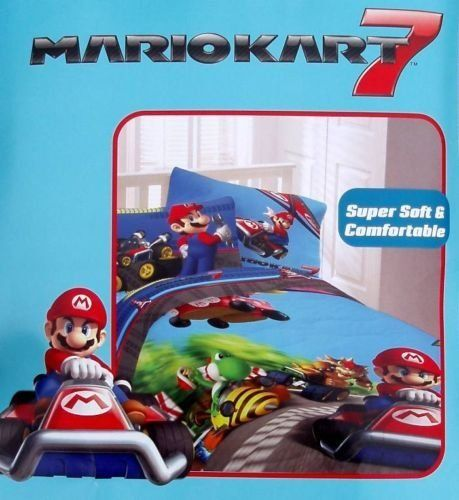 mario kart bettw sche my blog. Black Bedroom Furniture Sets. Home Design Ideas