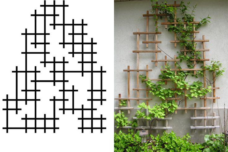 Conception / Création / Gestion de projet / Jardins résidentiels --> Plate bande de plantes alpines et treillis pour une plante grimpante PAUL DEMERS  02 août 2012 - 13:15 Mandat : Concevoir une pla...