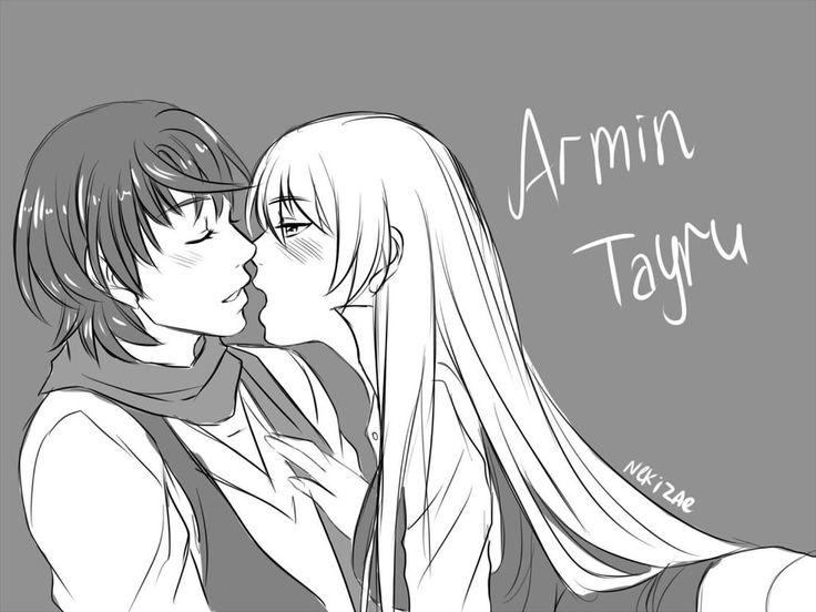Armin y Sucrette corazon de melon