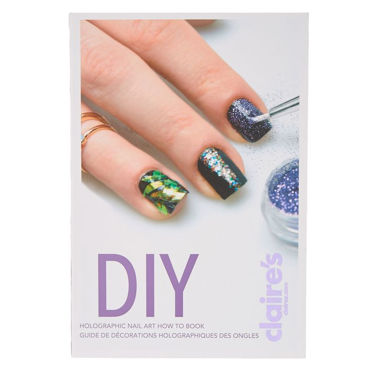 <P>Give your nails a funky makeover with this DIY nail art booklet. This DIY kit features cool holographic stickers, a iridescent cellophane pot, glitter pots, and nail polishes plus a nail brush and a tweezer for nail art application. The inside flap has easy to follow instructions to create the nail style you want. The nail polish colors include: black, white, clear, and purple. Get vibrant and sassy nails easily with this nail art how to book.</P><UL><LI>Include...