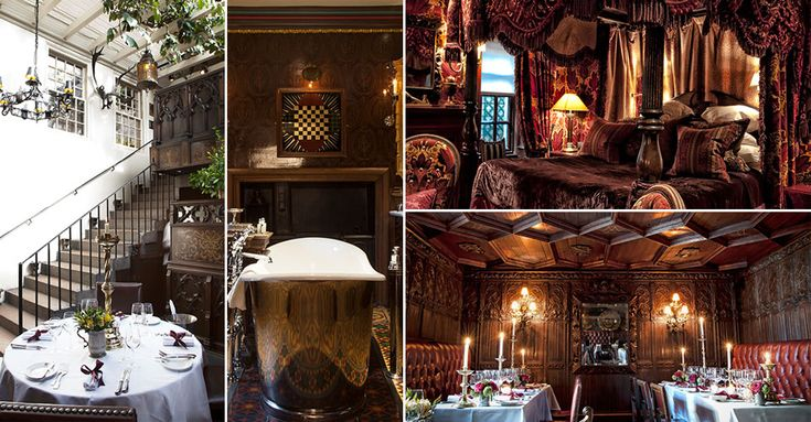 Edinburgh - The Witchery by the Castle - The UK's Most Unusual Getaways | sheerluxe.com
