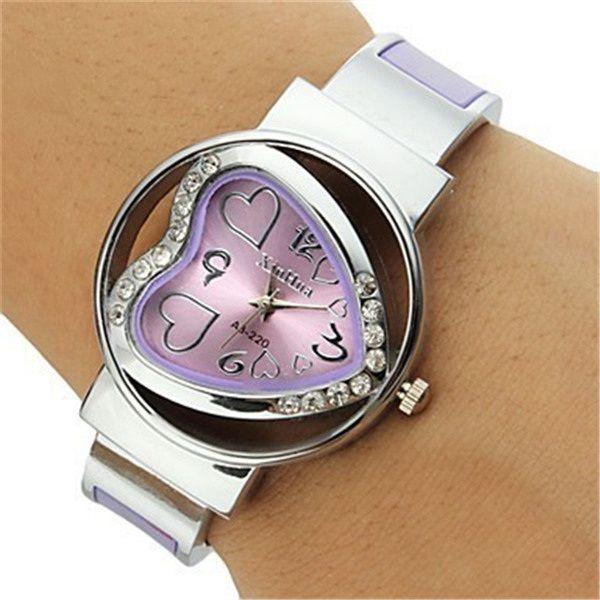 $4.96 (Buy here: https://alitems.com/g/1e8d114494ebda23ff8b16525dc3e8/?i=5&ulp=https%3A%2F%2Fwww.aliexpress.com%2Fitem%2Fmontre-femme-New-2017-Heart-Shape-fashion-casual-wristwatch-ladies-bracelets-bangles-quartz-watches-women-sports%2F32794094516.html ) montre femme New 2017 Heart Shape fashion casual wristwatch ladies bracelets & bangles quartz watches women sports dress watch for just $4.96