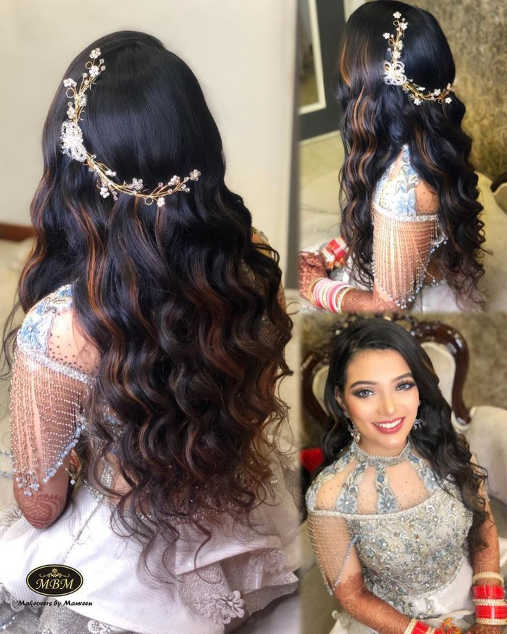 Open Hairstyle Wedding Open Hairstyles Hair Styles Wedding Hairstyles