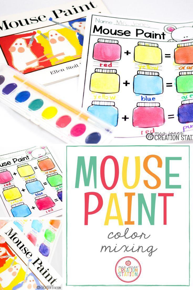 Color Mixing Fun Mrs Jones Creation Station In 2020 Preschool Colors Preschool Color Theme Teaching Colors