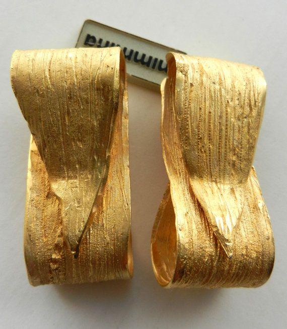 High-end Italian Earrings signed Mimmina  rare by RAKcreations