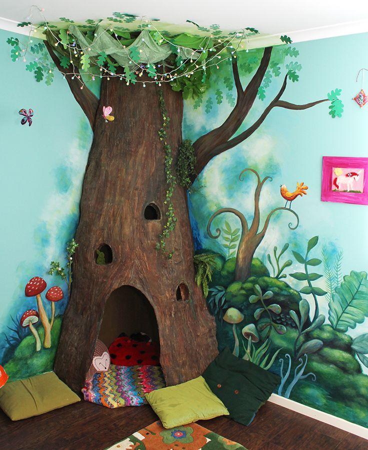 Wir freuen uns, das fertige Paper Mache Tree-Projekt zu teilen! Es war ja schon