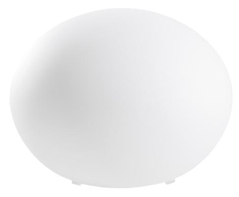 en bordlampe, koselig liten ball, kommer i flere størrelser med en pris på mellom 99-299,-